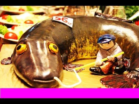 Торт рыбаку на ДР :)))))) - ( из канала VS- Рыбалка )