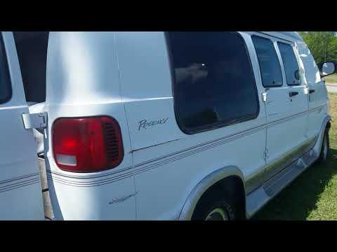 2000 Dodge camper van for sale