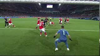 Хорватия забивает второй гол в ворота России на ЧМ 2018
