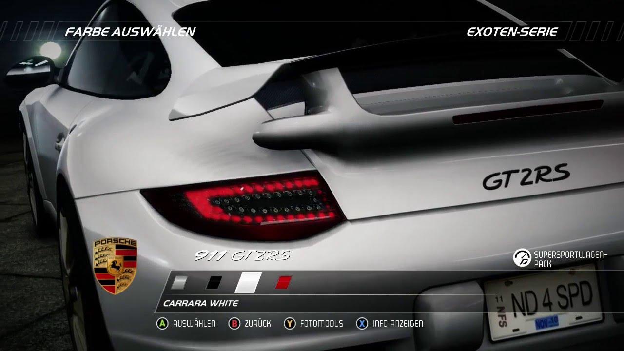 Need For Speed Hot Pursuit Rennen Mit Porsche 911 Gt2rs Xbox 360