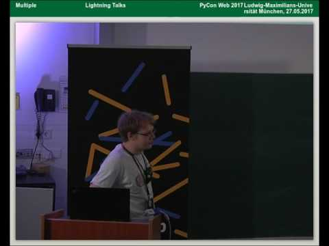 Image from 27.05.2017 - Lightning Talks