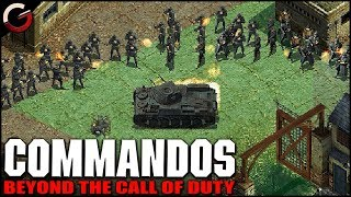 CAPTURE THE NAZI COLONEL! Mission 5  Walkthrough | Commandos: Beyond the Call of Duty Gameplay
