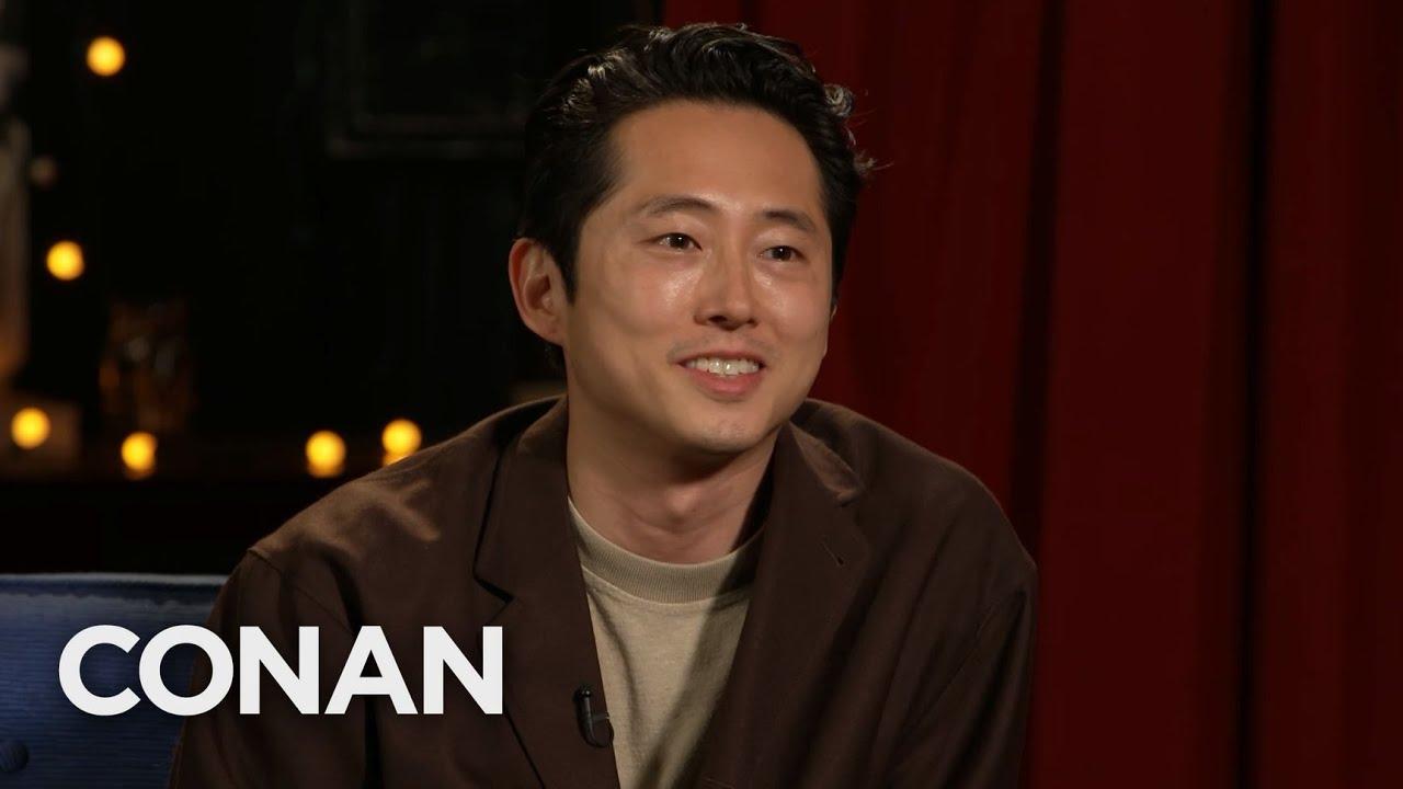 Download #CONAN: Steven Yeun Full Interview - CONAN on TBS