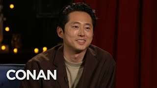 #CONAN: Steven Yeun Full Interview - CONAN on TBS