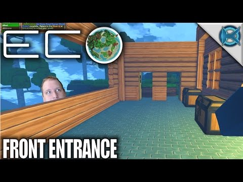Eco | Front Entrance | Let's Play Eco Gameplay | S01E26
