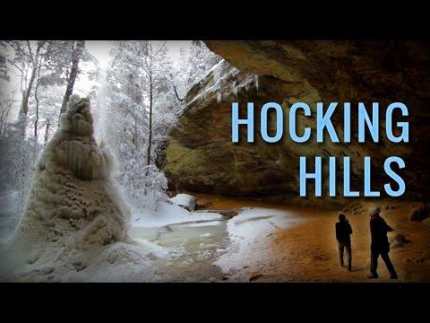 Hocking Hills State Park | Winter Hiking in Ohio near Athens, Logan, Hocking county