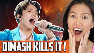 Dimash Kudaibergen - Adagio Reaction | Vocal God Live On The Singer! How Does Дінмұхаммед Do It?