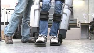 Developing REX, the hands-free robotic walking device - Hayden Allen 1