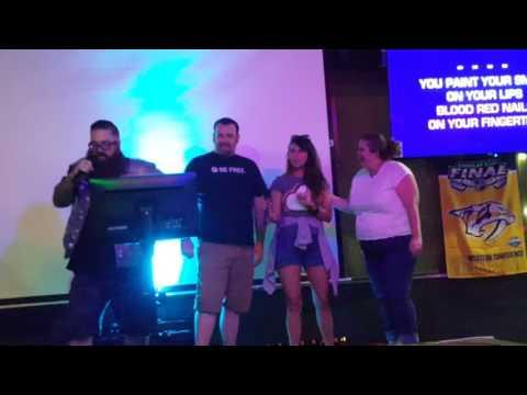 Karaoke Fun at MJs