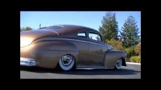 "1948 Ford Mercury Coupe ""full on-road action"" [award-winning custom car]"