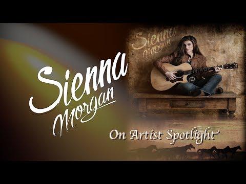 Behind the scenes, Sienna Morgan on Artist Spotlight