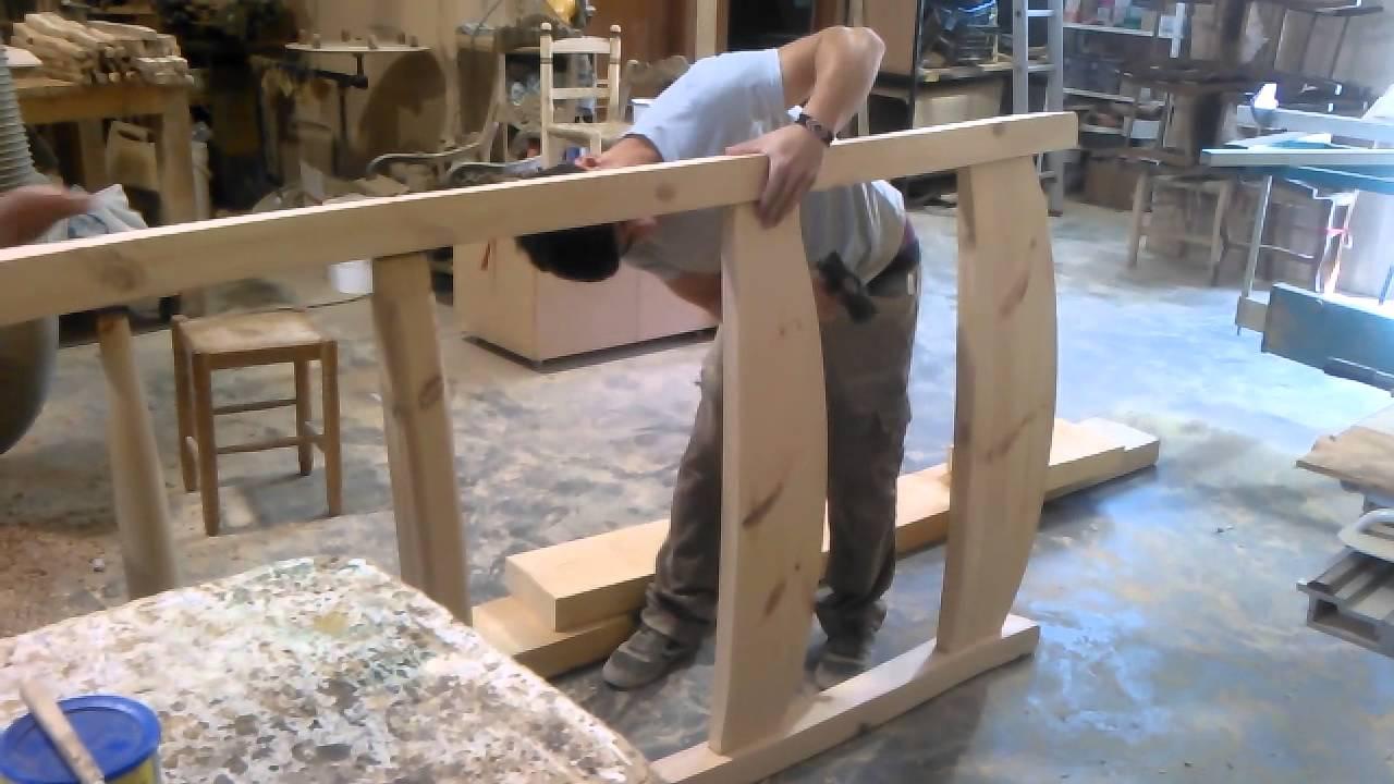 Fabricaci n silla en madera de 3 metros youtube for Fabricacion de bares de madera