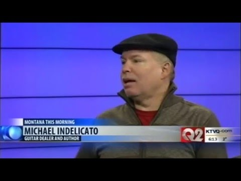 Michael Indelicato stops by Montana this Morning