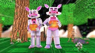 Fnaf Babies Go Trick or Treating! ft.CircusBaby (Minecraft Fnaf Daycare)