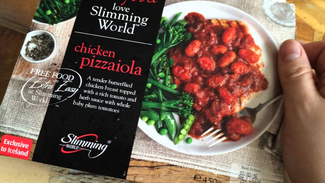 Slimming World Frozen Ready Meals Review Chicken Pizzaiola Youtube