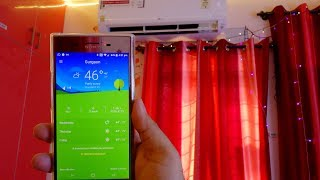 LG Dual Inverter AC on a 46-47 degree celsius day peak summer cooling performance test