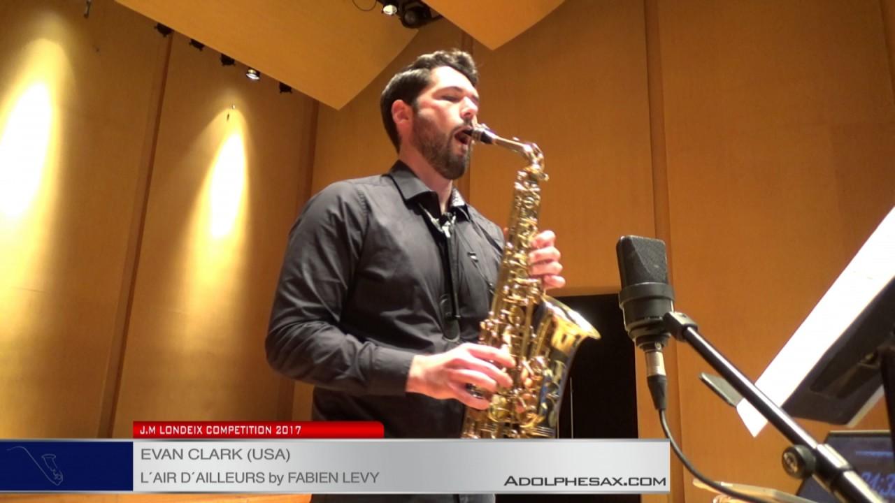 Londeix 2017 - Semifinal - Evan Clark (USA) - L'air d'ailleurs by Fabien Levy