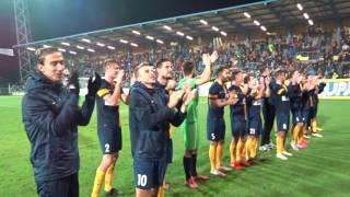 MOL Cup SFC Opava - Plzeň děkovačka
