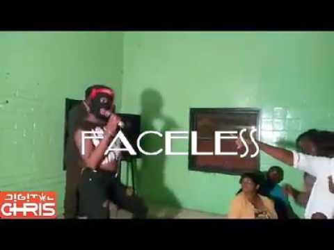 Faceless - Zimdancehall artist live