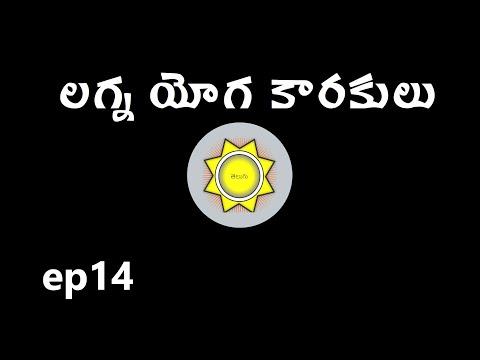 Learn Astrology in Telugu | లగ్న యోగ కారకులు
