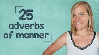 German Lesson (264) - 25 Adverbs of Manner - B1