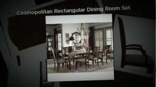 Bassett Furniture - Cosmopolitan Rectangular Dining Table
