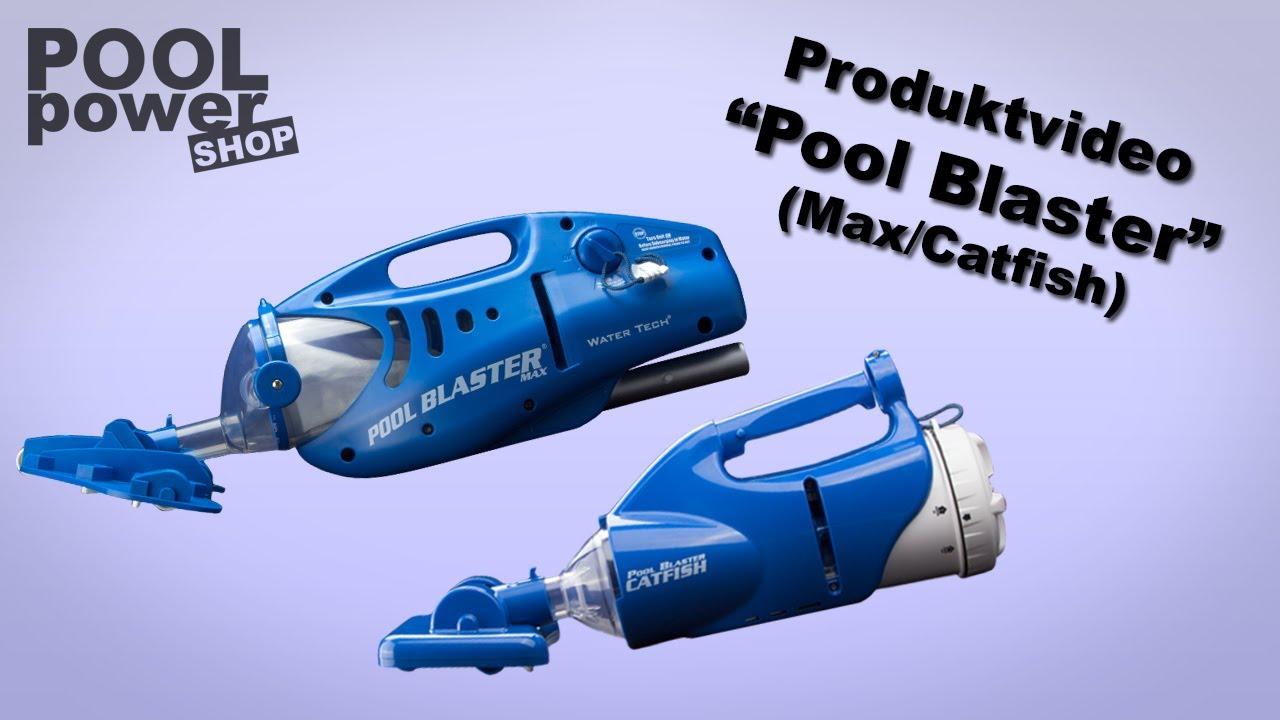 Akkubetriebener Poolsauger Quot Pool Blaster Max Amp Catfish Quot Youtube