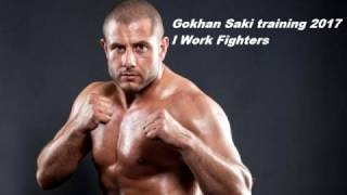 Gokhan Saki training for UFC 2017 l Work Fighters