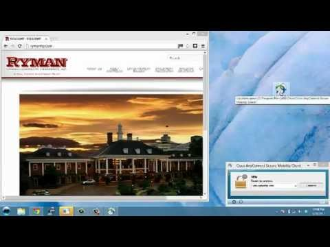 Ryman Hospitality Properties  VPN Training