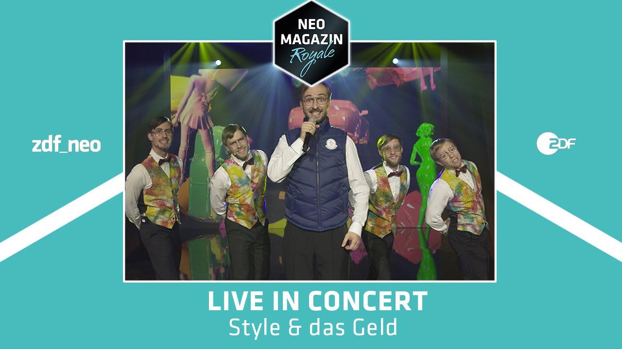 kay boehm style das geld live neo magazin royale mit jan bohmermann zdfneo