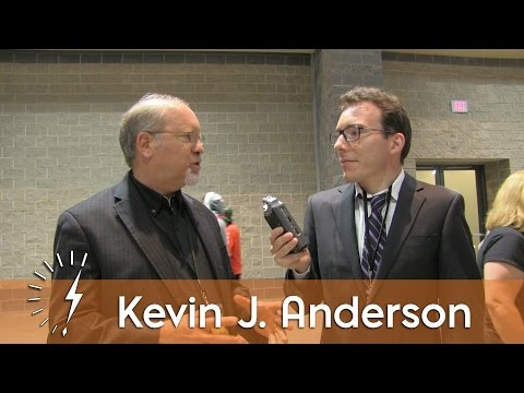 Connecticon 2016: Interview with Kevin J. Anderson
