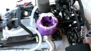 RC Nitro Serpent 733 - Automodelo Serpent 733