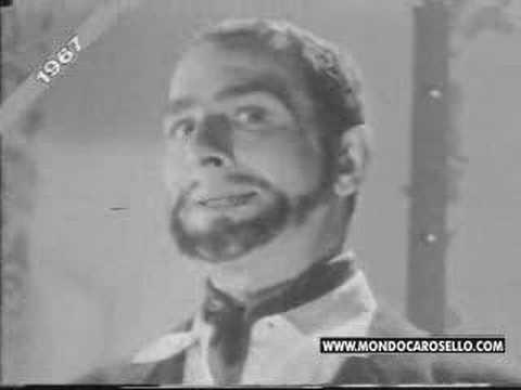 "Mister X - Carosello Dixan 1967 ""La formula magica"""