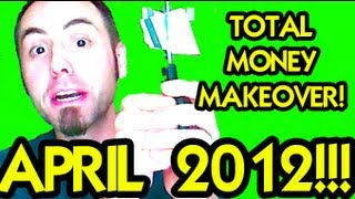 💵 STARTING DEBT SNOWBALL METHOD 💰 Dave Ramsey Total Money Makeover: Month 4: April 2012 | LaneVids