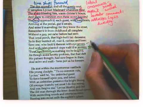 Keats Lamia part II annotations