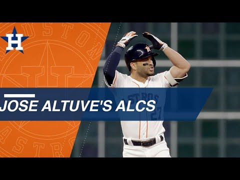 Check out highlights from Jose Altuve's 2018 ALCS