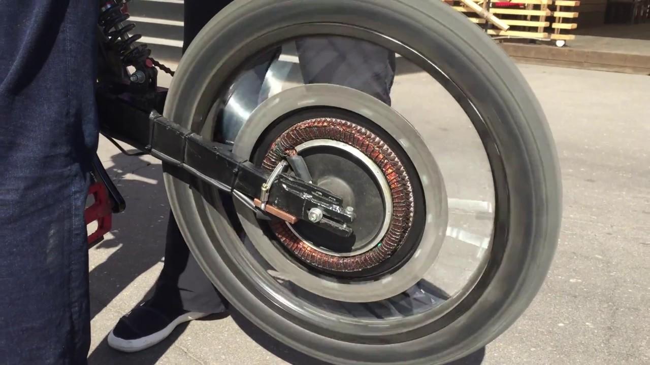 Мотор-колесо 500Вт 48В для электровелосипеда - YouTube