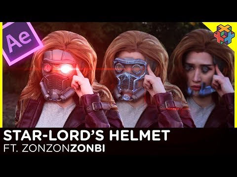 ⭐ Star Lord's Helmet ⭐ After Effects Tutorial ft ZonZonZonbi