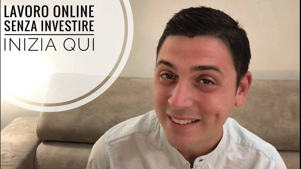 lavoro online senza investimento