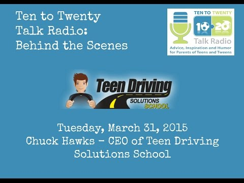 Podcast Behind the Scenes with Teen Driving Solutions School - Chuck Hawks