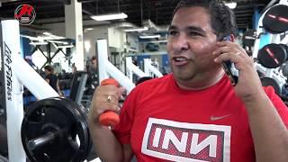 Llamada en el gimnasio - JR  INN