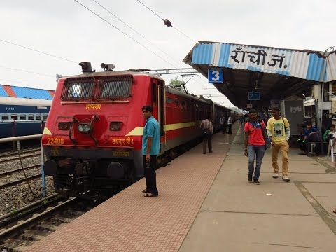 Full journey in Shatabdi Express : Ranchi - Howrah Shatabdi Express...!!