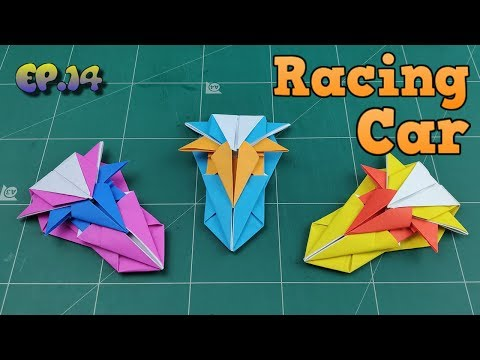 How To Make Easy Car Paper Model | Origami Car Way | DIY Paper Crafts Videos Tutorial Ep.14