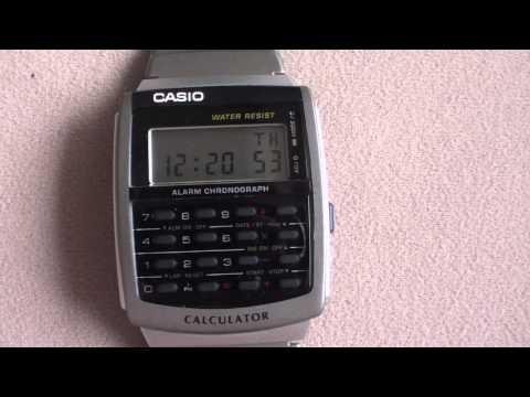Casio Calculator Watch CA56-1