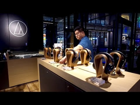 Audio-Technica flagship store