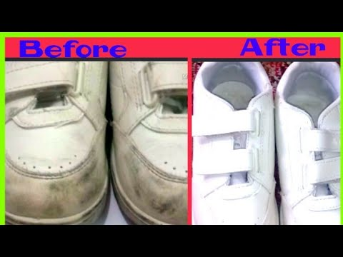 Dirty Shoes !! No Problem !!! Clean your shoes in 2 minutes with 2 ingredients.