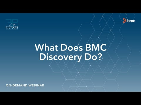 What Does BMC Discovery Do?