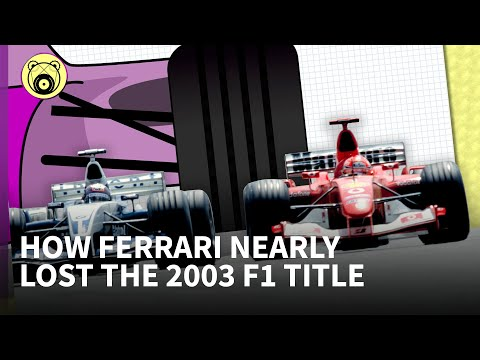 Chain Bear explains: How a rule change swung the 2003 F1 title fight