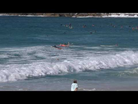 BODYSURF SAMPLE BONDI BEACH AUSTRALIA