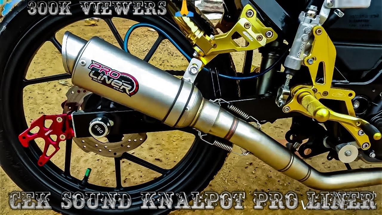 1 Review Knalpot Pro Liner Di suzuki satria fu fi suzuki rider 150 fi